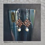 jewelart celtic venus earrings