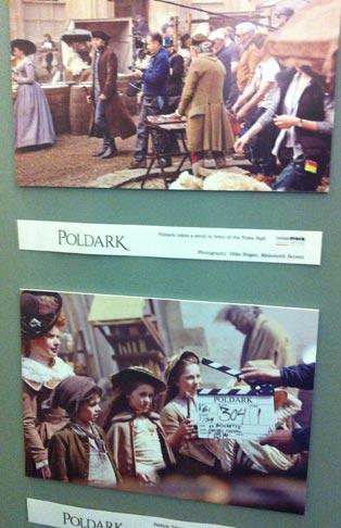 filming Poldark in Corsham