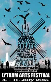 Lytham Arts Festival poster