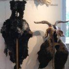 animal headgear by Barbara Keal