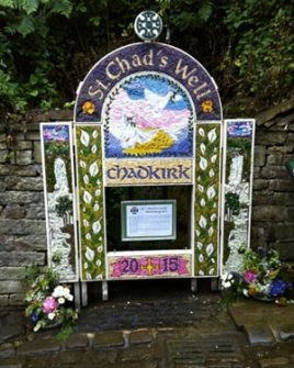 St. Chad's well dressing 2015