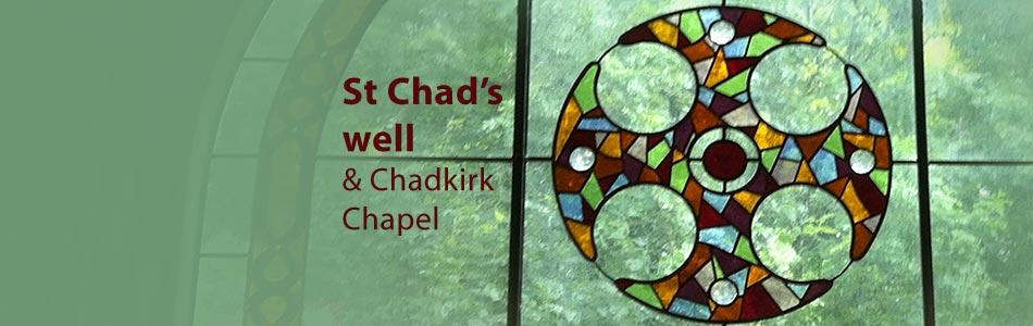 chadkirk chapel stained glass window