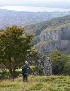 jewellery artist visit to cheddar gorge