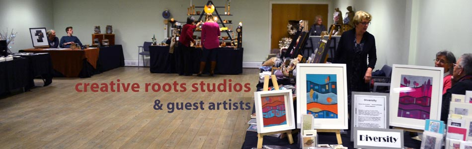 creative roots studios and guest artists exhibition