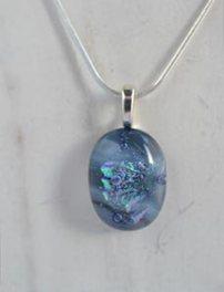 jewelart fused glass pendant