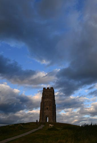 dusk view of st michaels tower