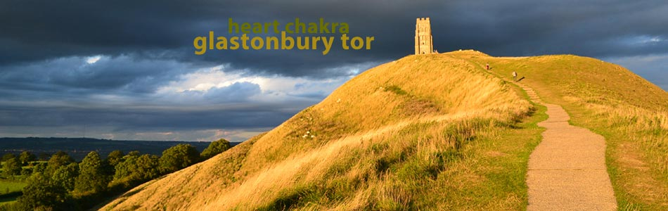 scenic view of glastonbury tor