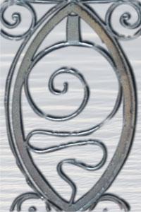 spiral design at the white spring