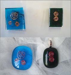 jewelart early glass experiments