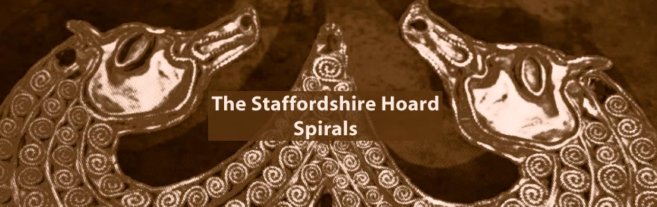 spiral decoration in the Staffordshire Hoard