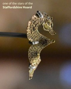 sea horse piece decorated with spiral patterns