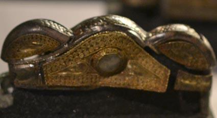 Anglo Saxon treasure spiral decoration