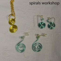 spiral jewellery spiral jewellery created at the workshopsat the workshops