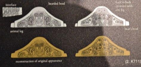 Anglo Saxon bearded man design