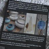 Brantwood craft fair leaflet