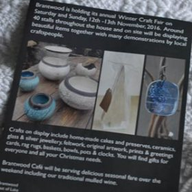 Brantwood craft fair leaflet