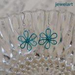jewelart flower earrings