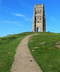 Glastonbury Tor 2017