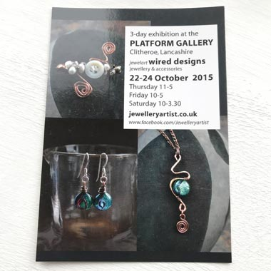 my first solo jewelart pop-up shop in 2015