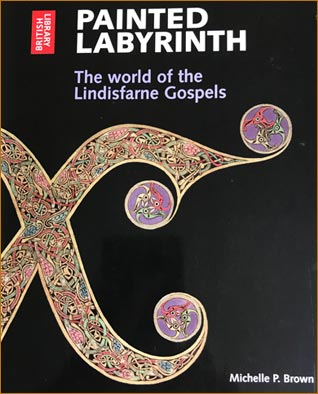 Lindisfarne Gospels book by the British Library