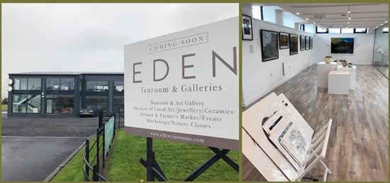 Eden Tearoom and Galleries in Newburgh